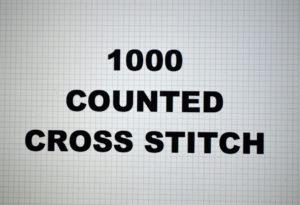 1000-00.CROSS STITCH