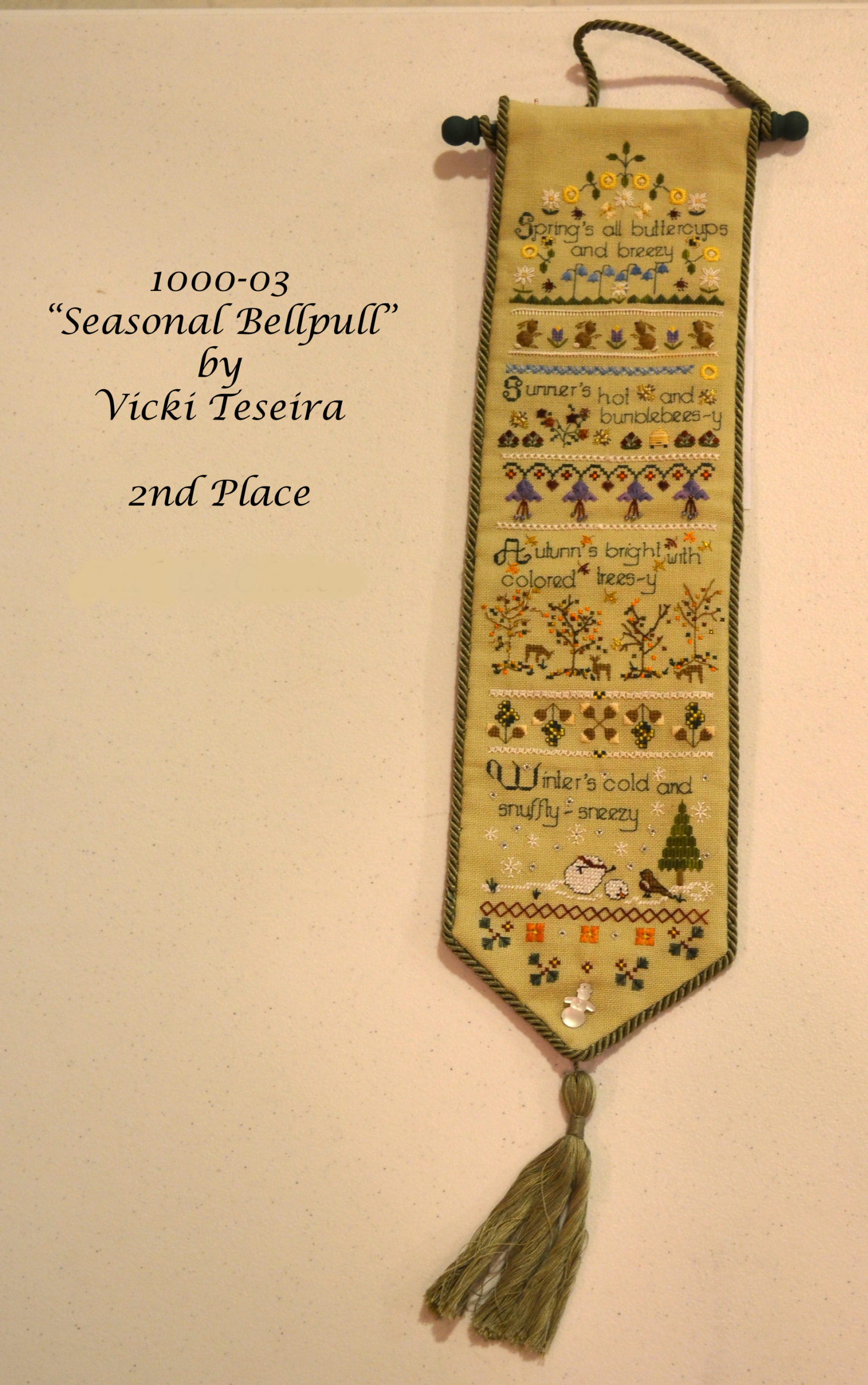 1000-03 Seasonal Bellpull