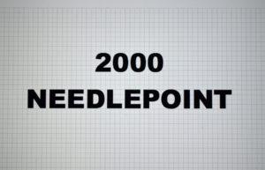 2000-00.NEEDLEPOINT