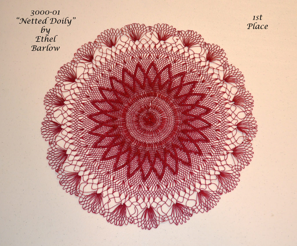 3000-01 Netted Doily