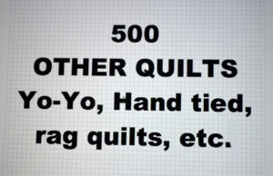 500-00.OTHER QUILTS