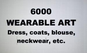 6000-00.WEARABLE ART