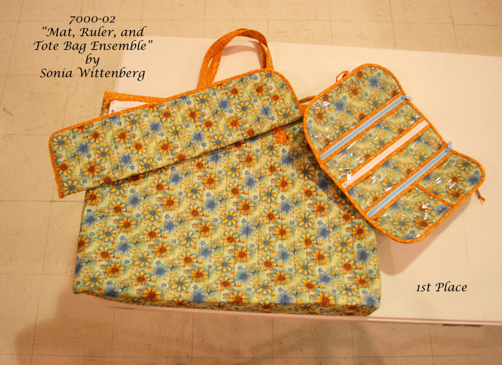 7000-02 Mat bag, ruler bag, tool bag
