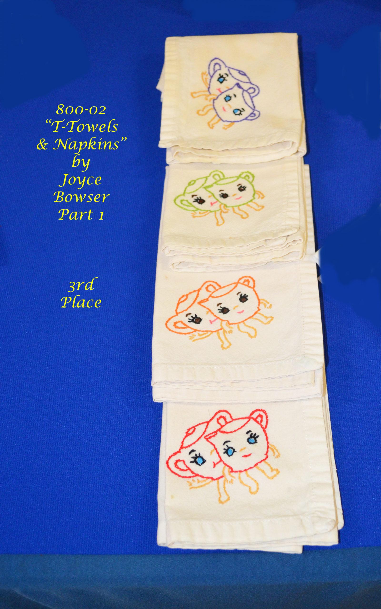 800-02(1) T-Towels & Napkins